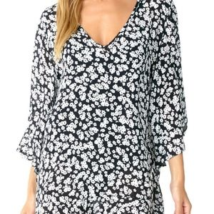 ANNE COLE FLOUNCY TUNIC COVER UP